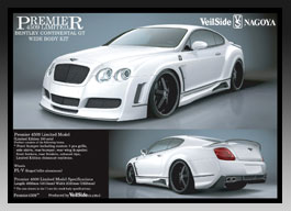 Bentley Continental GT WIDE BODY KIT Premiere 4509 リミテッドモデル